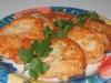 Картофельно-куриные оладьи.