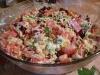 Салат «Обжорка» Простой салат в приготовлении, без всяких изысков, но всегда идет на » ура».